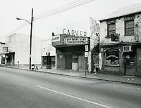 UNDATED..Historical..Carver Theatre...NEG#.NRHA#..