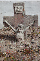Mexican Cemetery  18 - Photograph taken in El Panteón Cementario, also know as Cementario Viejo or old cemetery, in Puerto Vallarta, Mexico.