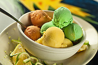 "Armstrong's Homemade Ice Cream Cruzan cuisine ""West Indian local dishes"""