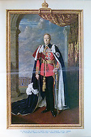 BNPS.co.uk (01202 558833)<br /> Pic: Clevedon/BNPS<br /> <br /> Artist Maurice Codner used a different uniform in his finished work.<br /> <br /> Fit for a King - George VI th RAF dress jacket.<br /> <br /> One of King George VI's RAF uniform's has emerged for auction and is tipped to sell for &pound;6,000.<br /> <br /> The King was due to wear this khaki service dress jacket, which is inscribed in ink with 'H.M The King, Feb 1940', for a full-length portrait in 1951, just one year before his untimely death.<br /> <br /> However, there was a late change of plan and he wore a different uniform instead from the selection he had brought along on the day.<br /> <br /> Following the sitting, the artist, Maurice Codner, was gifted the jacket by Queen Elizabeth II's father and 66 years later his family have decided to put it up for auction.