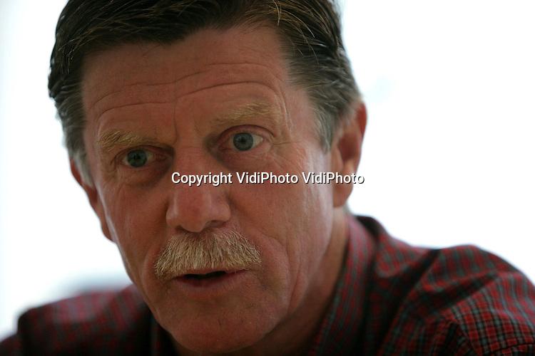 Foto: VidiPhoto..ARNHEM - Portret van Hans Westerhof, de nieuwe trainer van Vitesse.