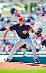 5 March 2010: Washington Nationals' pitcher Craig Stammen in action during a Spring Training game against the Atlanta Braves at Champion Stadium in the ESPN Wide World of Sports Complex in Orlando, Florida. The Braves defeated the Nationals 11-8 in Grapefruit League action. Mandatory Credit: Ed Wolfstein Photo