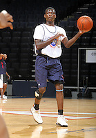 Myck Kabongo at the NBPA Top100 camp June 18, 2010 at the John Paul Jones Arena in Charlottesville, VA. Visit www.nbpatop100.blogspot.com for more photos. (Photo © Andrew Shurtleff)