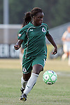 24 June 2009: Eniola Aluko (9) of Saint Louis Athletica.  Saint Louis Athletica was defeated by the visiting Los Angeles Sol 1-2 in a regular season Women's Professional Soccer game at AB Soccer Park, in Fenton, MO.