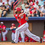5 March 2016: Washington Nationals outfielder Jayson Werth in action during a Spring Training pre-season game against the Detroit Tigers at Space Coast Stadium in Viera, Florida. The Nationals defeated the Tigers 8-4 in Grapefruit League play. Mandatory Credit: Ed Wolfstein Photo *** RAW (NEF) Image File Available ***