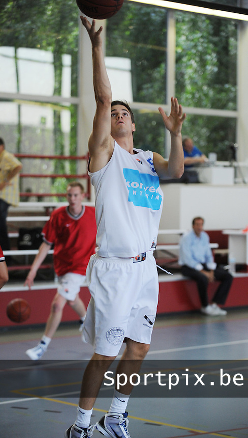 Kortrijk Sport CB Fanion One : Simon Planckaert.foto VDB / BART VANDENBROUCKE