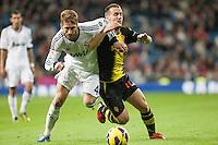 League BBVA round 10: Real Madrid vs Zaragoza (4-0)