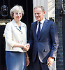 Donald Tusk meets Theresa May in Downing St 8th September  2016