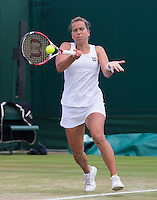 BARBORA ZAHLAVOVA STRYCOVA (CZE)<br /> <br /> The Championships Wimbledon 2014 - The All England Lawn Tennis Club -  London - UK -  ATP - ITF - WTA-2014  - Grand Slam - Great Britain -  30th June 2014. <br /> <br /> &copy; AMN IMAGES
