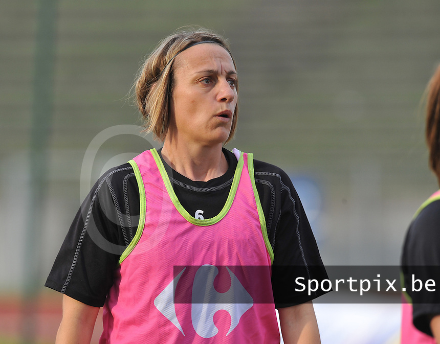 Football Club Feminin Juvisy Essonne - Olympique Lyon :.Sandrine Soubeyrand.foto DAVID CATRY / JOKE VUYLSTEKE / Vrouwenteam.be