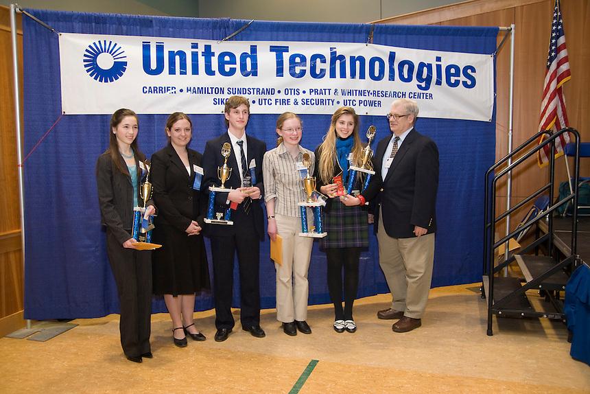60th Annual Connecticut Science Fair, Quinnipiac University, Hamden, CT