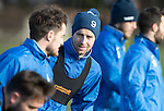 St Johnstone Training&hellip;03.02.17<br />Steven MacLean pictured during training this morning at McDiarmid Park ahead of Sunday&rsquo;s game against Celtic.<br />Picture by Graeme Hart.<br />Copyright Perthshire Picture Agency<br />Tel: 01738 623350  Mobile: 07990 594431