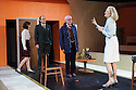 London, UK. 25.06.2015. The Young vic theatre presents THE TRIAL, by Franz Kafka, adapted for the stage by Nick Gill, directed by Richard Jones, with lighting design by Mimi Sherin. Photograph © Jane Hobson.