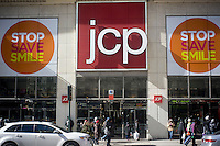 The Midtown Manhattan JCPenney department store in New York is seen on the President's Day holiday, Monday, February 18 2013.  (© Richard B. Levine)