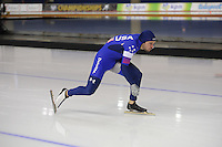 SPEEDSKATING: CALGARY: Olympic Oval, 25-02-2017, ISU World Sprint Championships, 500m Men, Mitchell Whitmore (USA), ©photo Martin de Jong