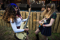 The Tuts onstage.