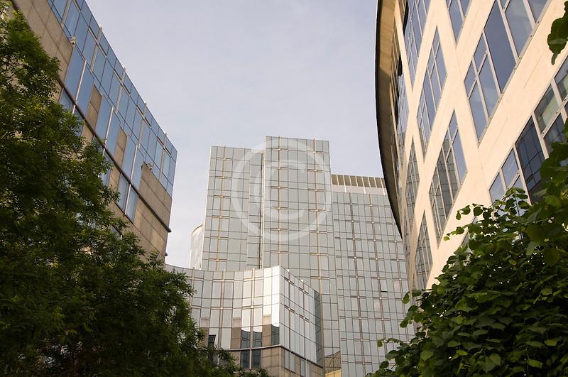 Belgium, Brussels, European Parliament buildings