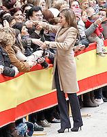 Princes of Asturias visit Alcaniz