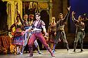 London, UK. 12.01.2016. English National Ballet present Le Corsaire, at the London Coliseum. Picture shows: Cesar Corrales (Birbanto). Photograph © Jane Hobson.