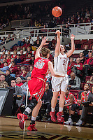 Stanford, CA, December 16, 2013.Stanford Women's Basketball versus New Mexico at Stanford. Stanford won 75-41