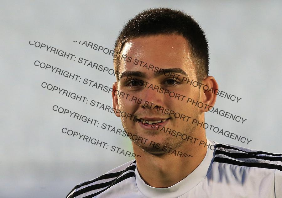 Fudbal Football Soccer<br /> UEFA Champions league-2nd qualifying round<br /> Partizan v HB Torshavn (Faroe Islands)<br /> Andrija Zivkovic<br /> Beograd, 07.15.2014.<br /> foto: Srdjan Stevanovic/Starsportphoto &copy;
