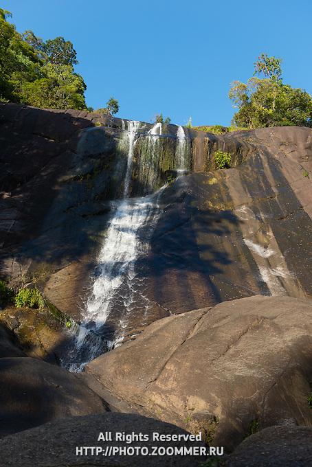 Langkawi Seven Wells waterfalls, Kedah, Malaysia