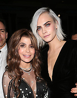 BEVERLY HILLS, CA - April 07: Abbe Land, Cara Delevingne, At 4th Annual unite4:humanity Gala_Inside At Madame Tussauds  In California on April 07, 2017. Credit: FS/MediaPunch