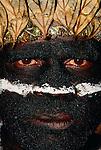 Mount Hagen tribesman at Singsing festival, Papua New Guinea