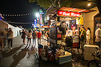 Austin's 6th Street runs on food carts, and there sure are a lot of them. 6th Street offers delicious cuisine from food carts among the world famous lounges, pubs and bars that line both sides of the street.