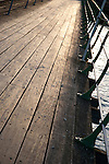 Pier Walkway on Tilted Angle