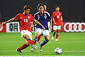 Koo Ja-Cheol (KOR), Yasuhito Endo (JPN),AUGUST 10, 2011 - Football / Soccer :Kirin Challenge Cup 2011 match between Japan 3-0 South Korea at Sapporo Dome in Sapporo, Hokkaido, Japan. (Photo by Takamoto Tokuhara/AFLO)
