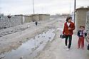 Irak 2000.Dans un camp de personnes déplacées à Erbil.      Iraq 2000.In a camp for displaced people near Erbil