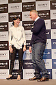 "Rooney Mara and David Fincher, Jan 31, 2012 : Tokyo, Japan, The movie directer David Fincher and Rooney Mara appear at a press conference for the film 'The Girl with the Dragon Tattoo' in the Tokyo Midtown. This story is based on a Swedish crime novel ""Millennium Series"". Daniel Craig and Rooney Mara play as main characters in the movie. This film will be released from February 10th in Japan. (Photo by Yumeto Yamazaki/AFLO/NIPPONNEWS)"