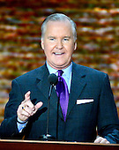 Mayor Bob Buckhorn of Tampa, Florida, makes remarks at the 2012 Republican National Convention in Tampa Bay, Florida on Tuesday, August 28, 2012.  .Credit: Ron Sachs / CNP.(RESTRICTION: NO New York or New Jersey Newspapers or newspapers within a 75 mile radius of New York City)