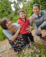 Fujii Family Portraits | San Francisco Botanical Garden Golden Gate Park