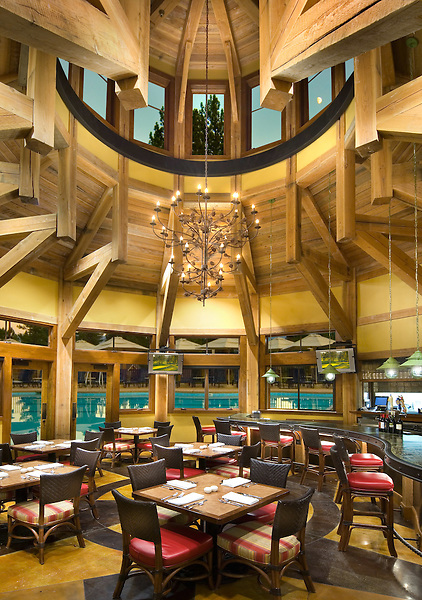 Old Greenwood Pavilion Reaturant.Tahoe Mountain Resorts