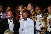SEP 25 DSQUARED2 backstage at Milan Fashion Week