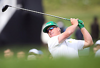 February 16, 2017: Charley Hoffman during the first round of the 2017 Genesis Open played at Riviera Country Club in Pacific Palisades, CA.