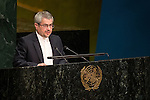 IRAN<br /> <br /> General Assembly Seventy-first session, 33rd plenary meeting<br /> 1. Report of the International Court of Justice [item 70] (a) Report of the International Court of Justice (A/71/4) (b) Report of the Secretary-General (A/71/339) <br /> 2. Organization of work, adoption of the agenda and allocation of items: second report of the General Committee (A/71/250/Add.1) [item 7] <br /> 3. Programme planning: report of the Fifth Committee (A/71/545) [item 135]<br /> 4. Review of the efficiency of the administrative and financial functioning of the United Nations; Report on the activities of the Office of Internal Oversight Services: report of the Fifth Committee (A/71/548) [items 133 and 144]