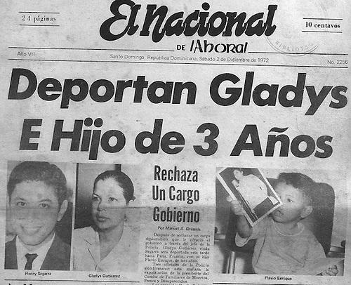 Deportacion de Gladys Gutierrez