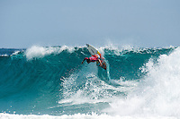 Snapper Rocks, Coolangatta Queensland Australia (Monday, March 14 2016): Italo Ferreira (BRA) - Round Two of the first WCT event of the year, the Quiksilver Pro Gold Coast, was completed this morning followed by Round Three and two heats of Round Four.  The upsets continued with the Tour Rookies taking out out a good proportion of the heats with Stu Kennedy(AUS) again showing great form by defeating Gabriel Medina (BRA). The event was put on hold for over 2 hours while organisers waited for the tide to drop. The surf was in the 4'-5' range most of the day.Photo: joliphotos.com