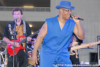 The J.D. Hall band entertains the crowed during Santa Monica College's Celebrate America on Saturday, June 26, 2010.