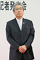 Tsunekazu Takeda, May 29, 2012 : .The Tokyo Olympic and Paralympic Games 2020 bidding committee announced the emblem.at Tokyo Metropolitan Government Office in Tokyo, Japan. .(Photo by Yusuke Nakanishi/AFLO SPORT) [1090]