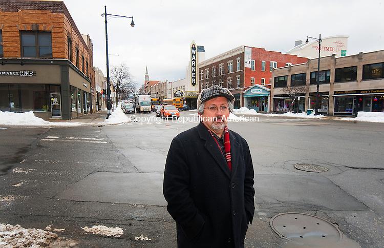 TORRINGTON,  CT-012915JS07-  Edward Cannata,  is the Chairman of the Torrington Arts an Cultural Commission.<br /> Jim Shannon Republican-American