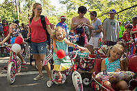 The 65th annual Watts-Hillandale Neighborhood Independence Day Parade in Durham, N.C. on Friday, July 4, 2014. (Justin Cook)
