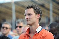 KAATSEN: FRANEKER: It Sjûkelân, 30-07-2014, PC (Permanente Commissie), Taeke Triemstra (viel geblesseerd uit), ©foto Martin de Jong