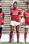 24 August 2014: Stanford's Ryan Walker-Hartshorn. The Duke University Blue Devils played the Stanford University Cardinal at Fetzer Field in Chapel Hill, NC in a 2014 NCAA Division I Women's Soccer match. Stanford won the game 2-0.