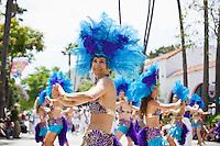 Santa Barbara, California, USA - Annual summer solstice parade. June 20, 2009
