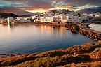 Naxos ( Chora ) town. Greek Cyclades Islands Greece