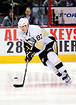 6 February 2010: Pittsburgh Penguins' center Sidney Crosby warms up prior to a game against the Montreal Canadiens at the Bell Centre in Montreal, Quebec, Canada. The Canadiens defeated the Penguins 5-3. Mandatory Credit: Ed Wolfstein Photo